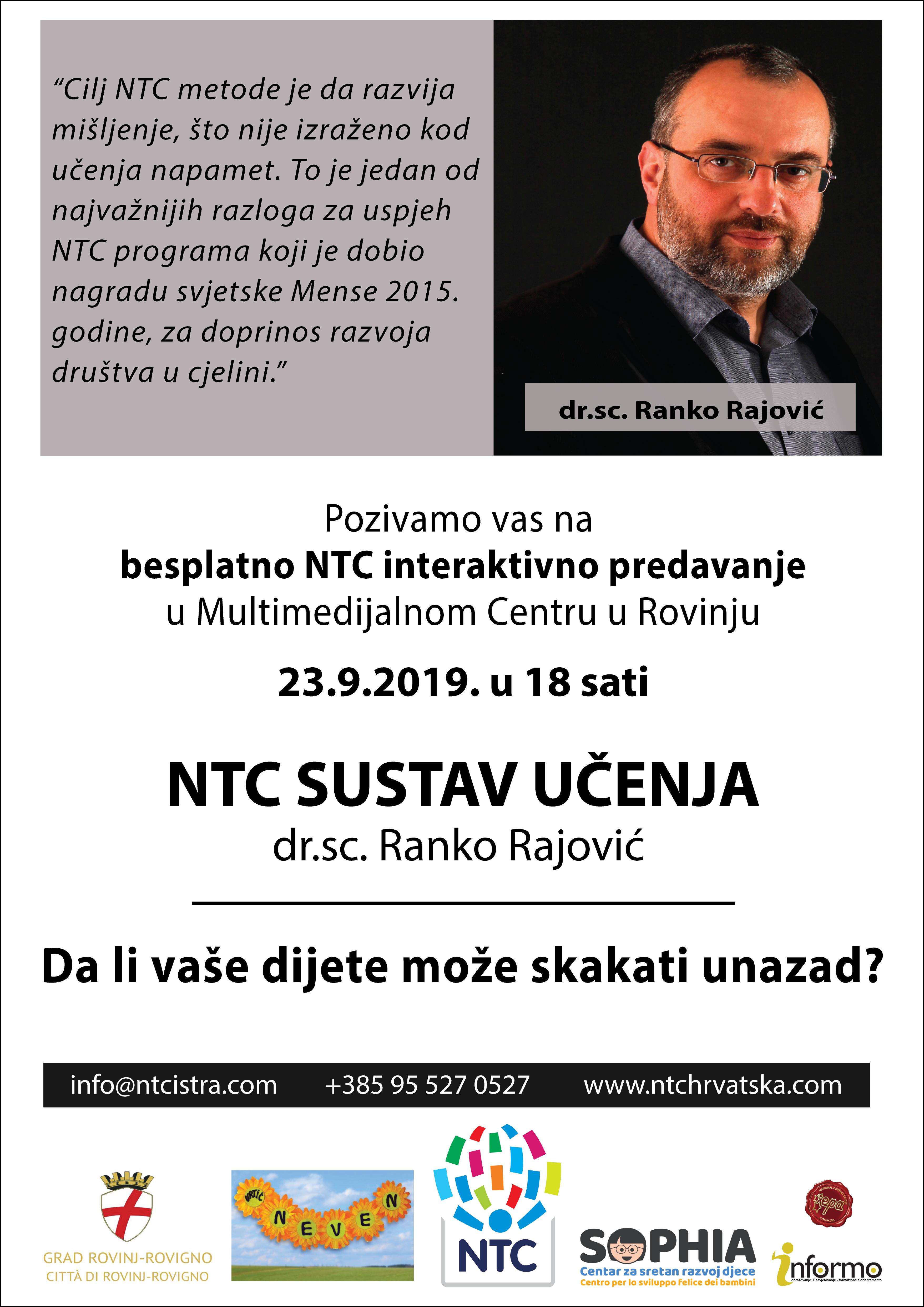 Invito – conferenza interattiva gratuita NTC