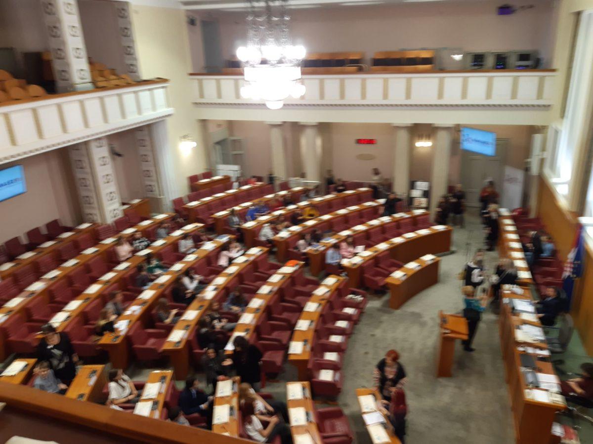 I piccoli consiglieri di Rovigno a Zagabria per la Giornata dei diritti dei bambini - glavna fotografija