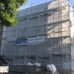 In corso i lavori di riqualificazione energetica dell'edificio di Viale della Gioventù 2