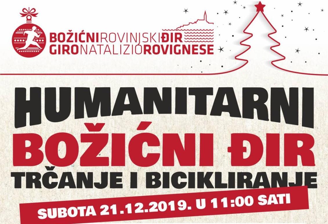 L'Unione sportiva organizza la corsa umanitaria Giro natalizio rovignese