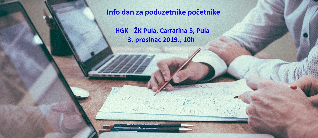 Invito agli imprenditori a partecipare alla Giornata info a Pola