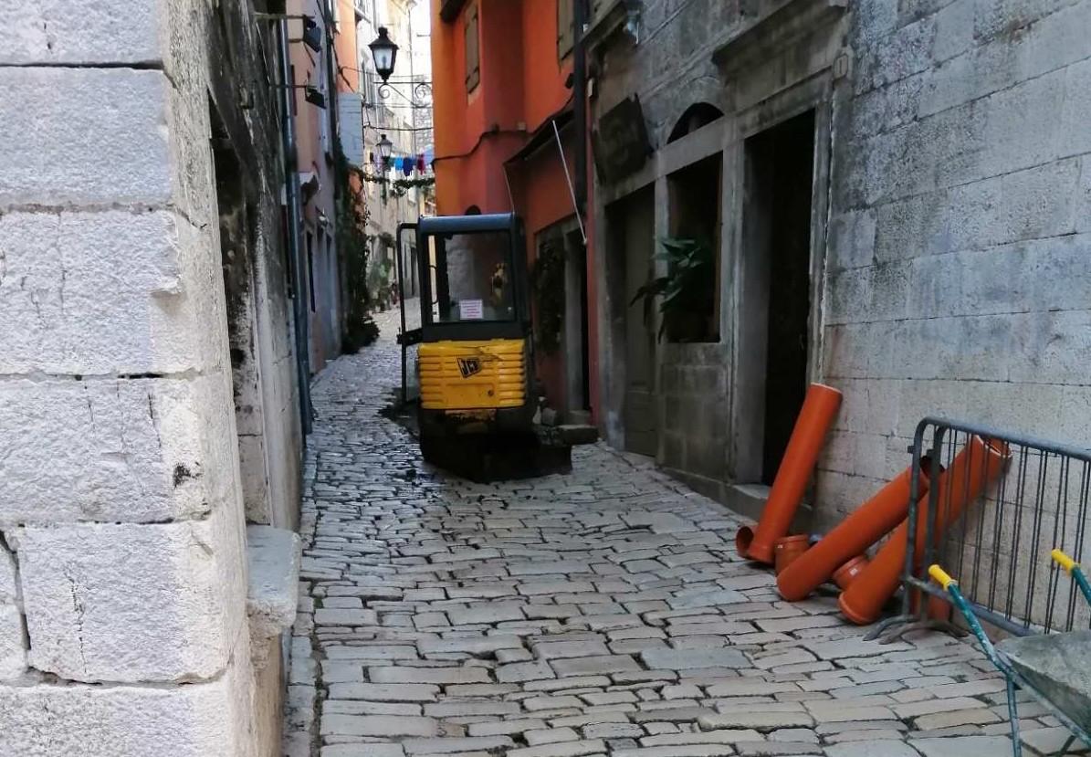 Započinju radovi u ulici Mazzini