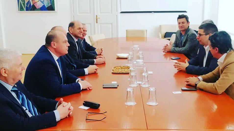 Prijem visoke delegacije Unsko-sanskog kantona - glavna fotografija