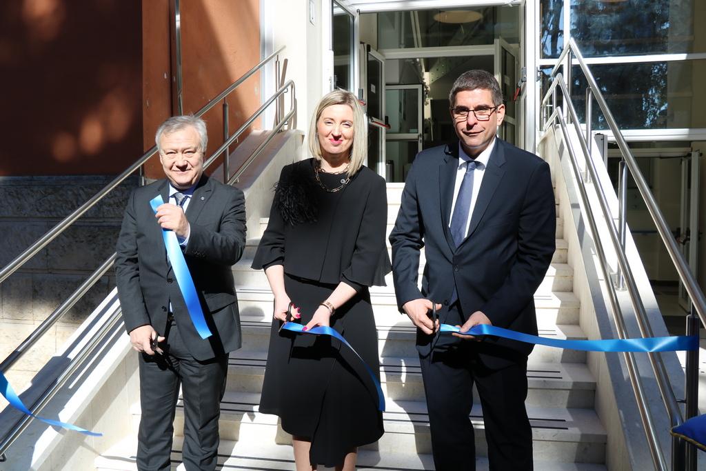 Inaugurata la nuova ala della Casa di riposo «Domenico Pergolis»
