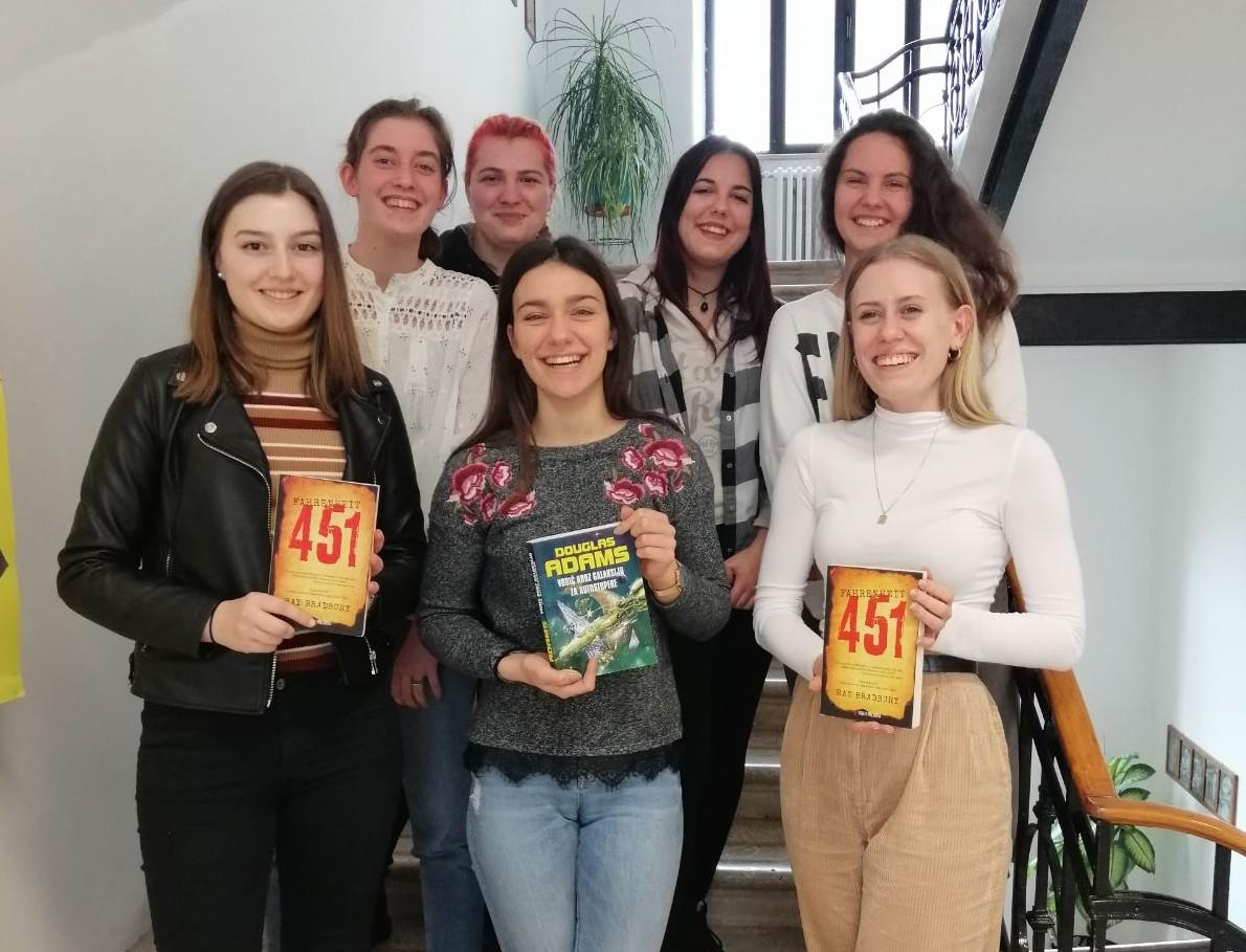 Učenice Talijanske srednje škole ostvarile sjajne rezultate u kvizu «Čitanjem do zvijezda»