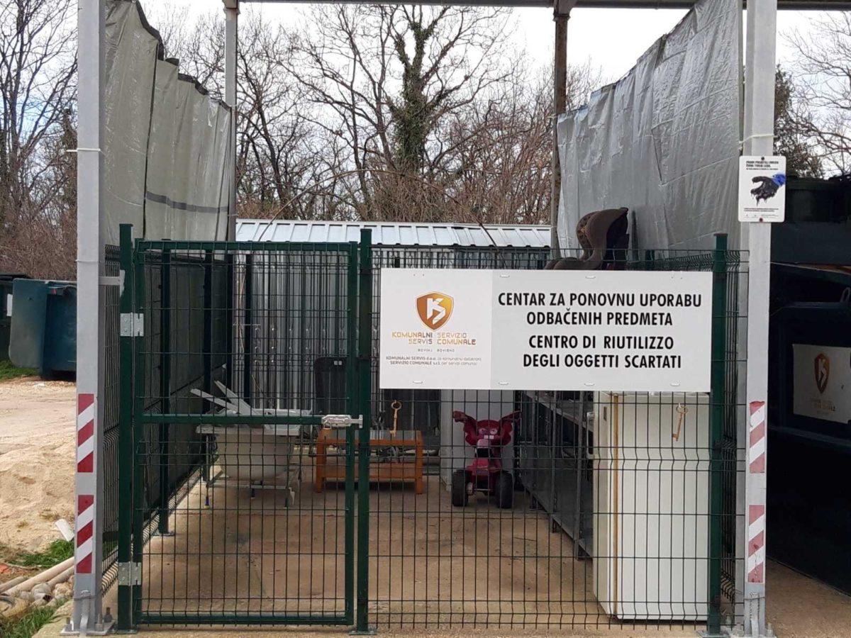 Aperto il Centro di riutilizzo degli oggetti scartati - glavna fotografija