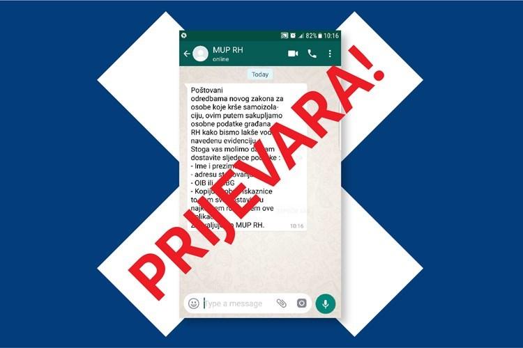 Upozorenje građanima: Ne dijelite osobne podatke preko mobilnih aplikacija