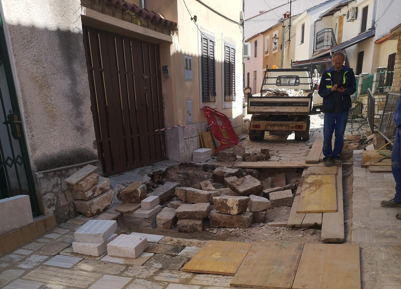 Radovi u ulici Mazzini u punom jeku