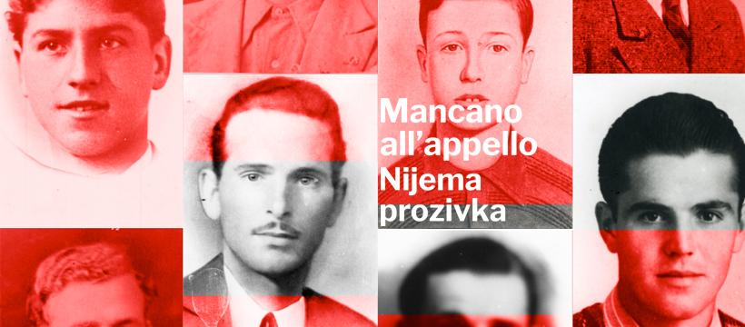 """Otvorena je virtualna izložba """"Mancano all'appello – Nijema prozivka"""""""