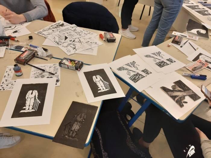Online izložba radova radionice grafičke ilustracije povodom 25. Dana Antuna Šoljana
