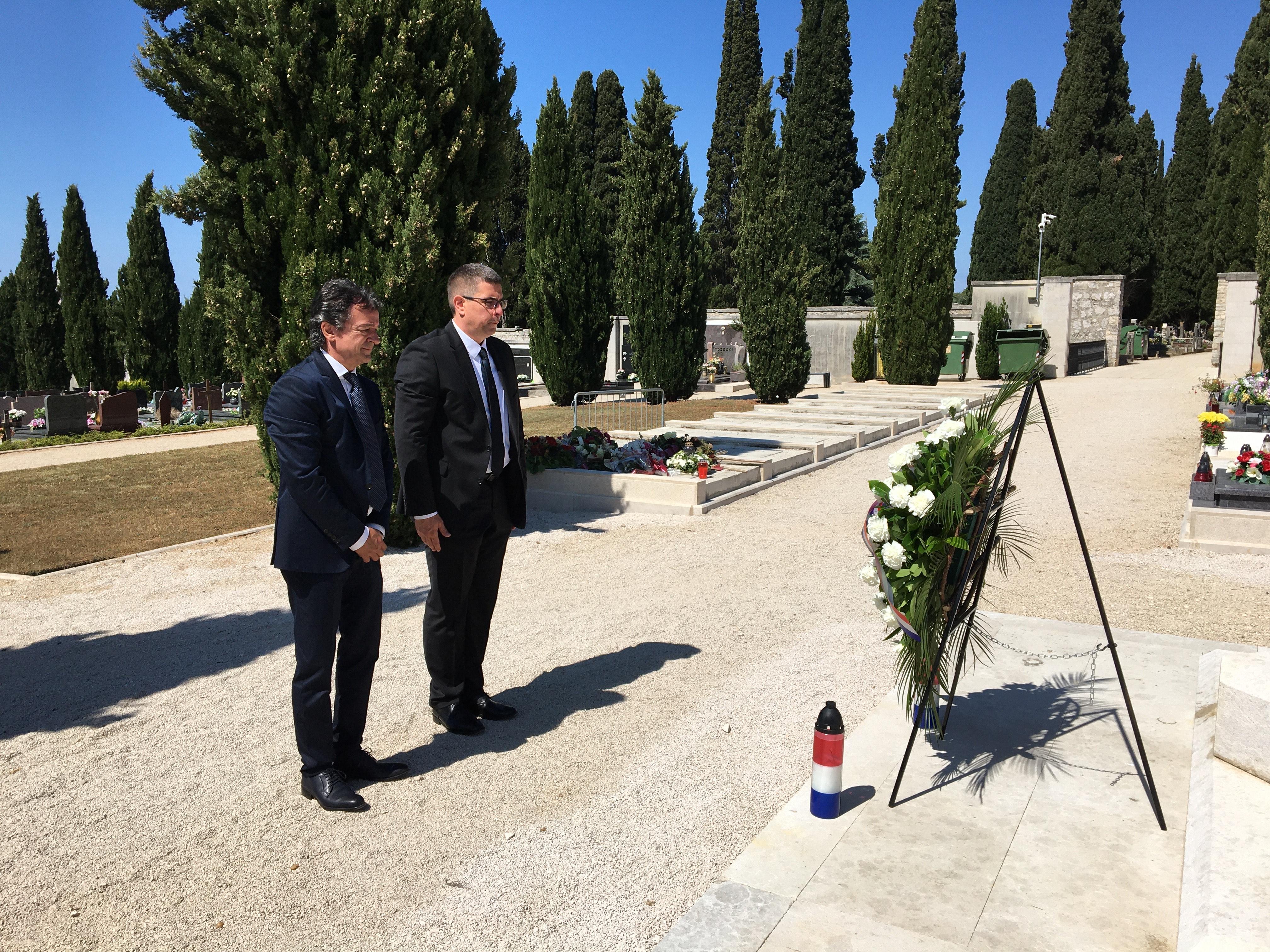 Svečani prijem i polaganje vijenca povodom Dana državnosti Republike Hrvatske