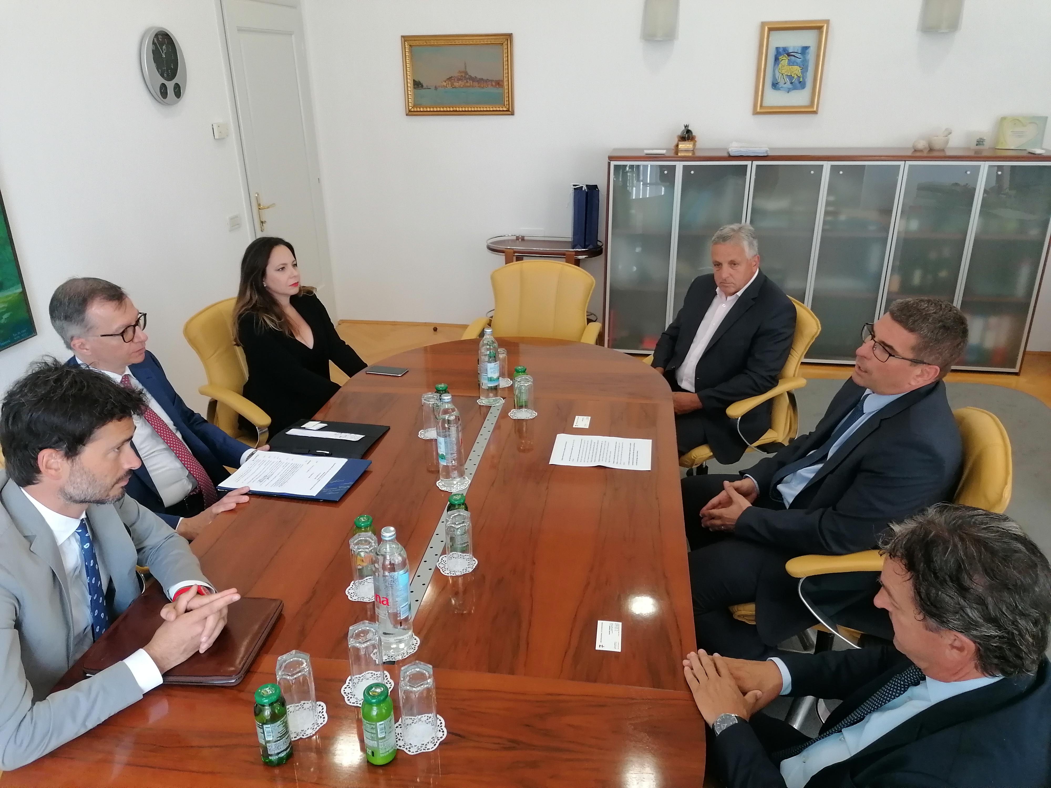 Održan prijem za veleposlanika i generalnog konzula Republike Italije