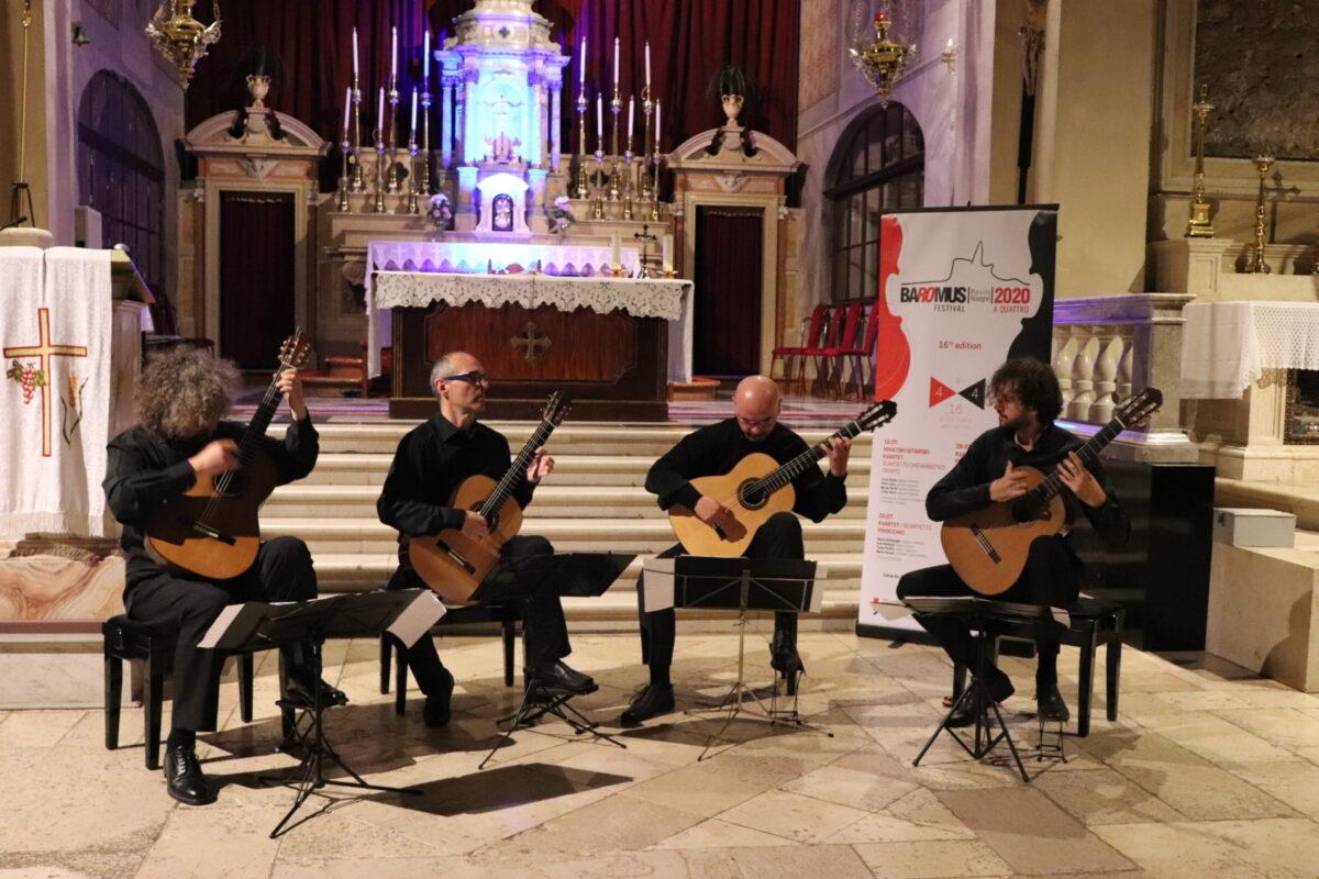 Hrvatski gitarski kvartet otvorio je 16. izdanje BaRoMusa - glavna fotografija