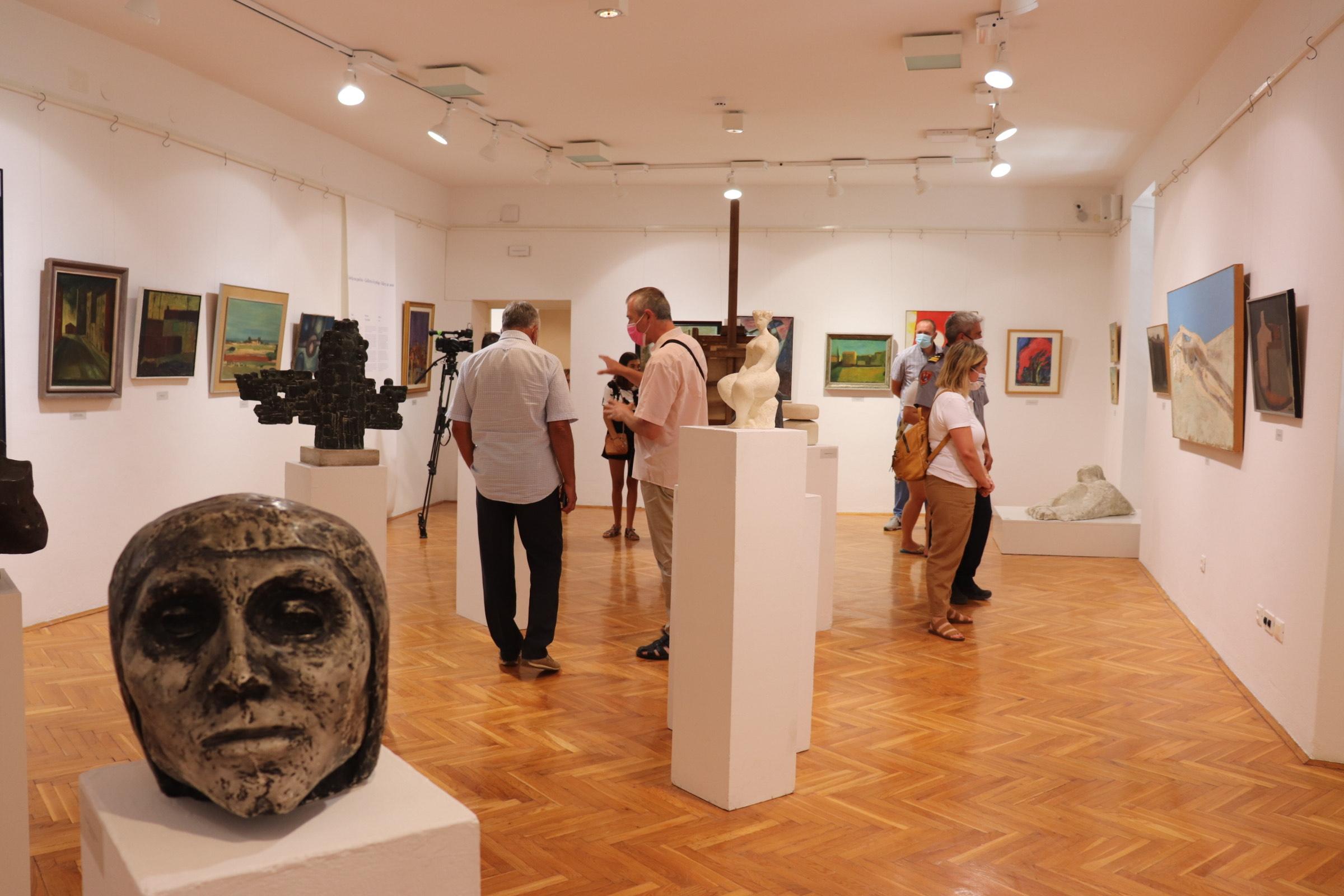 "Izložbom ""Galerija na pučini"" ponovno je otvoren rovinjski Muzej"