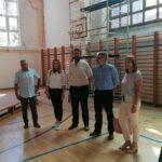 Posjet dvorani osnovne škole Vladimira Nazora