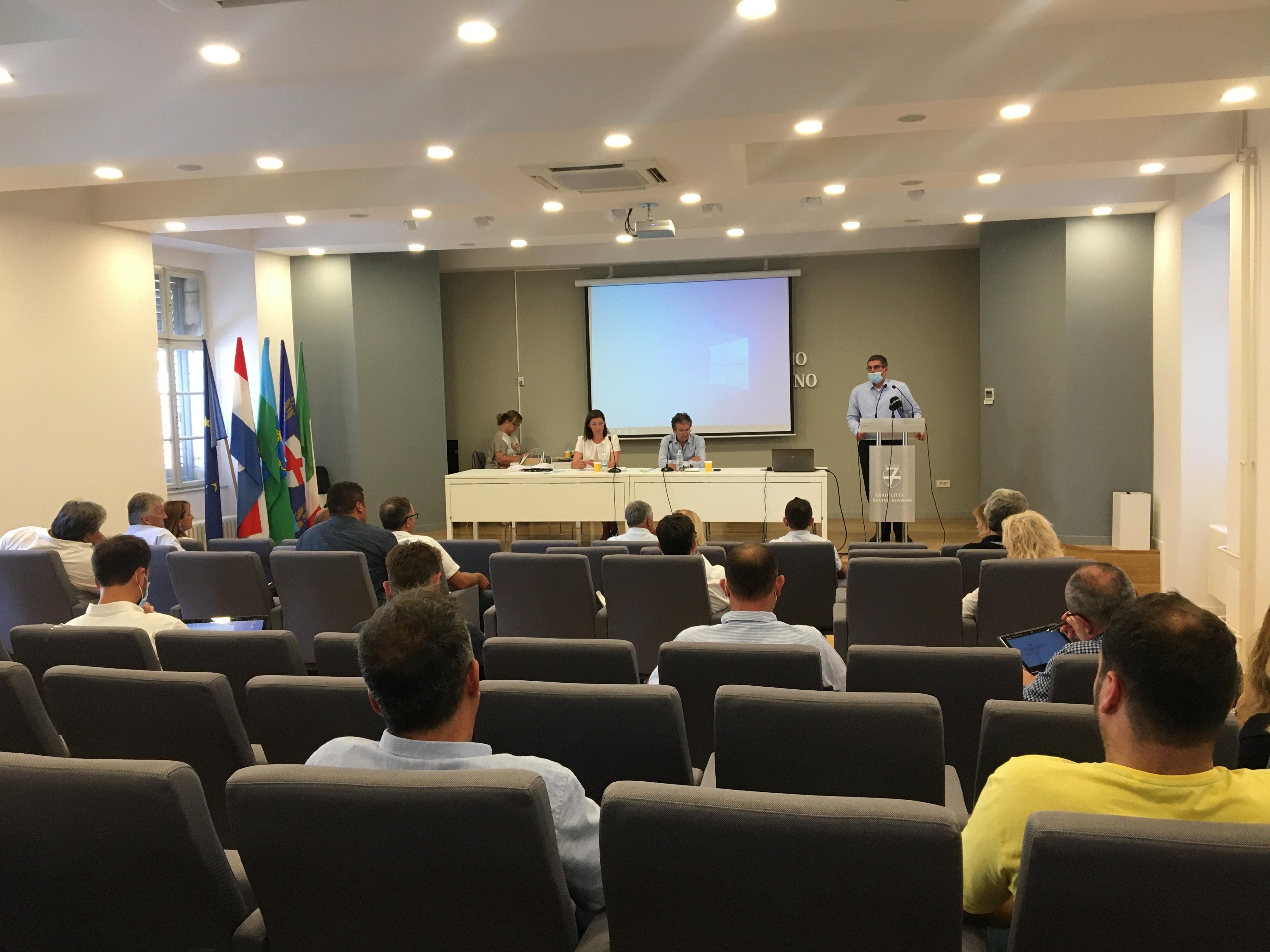 Održana 7/20. sjednica Gradskog vijeća Grada Rovinja-Rovigno