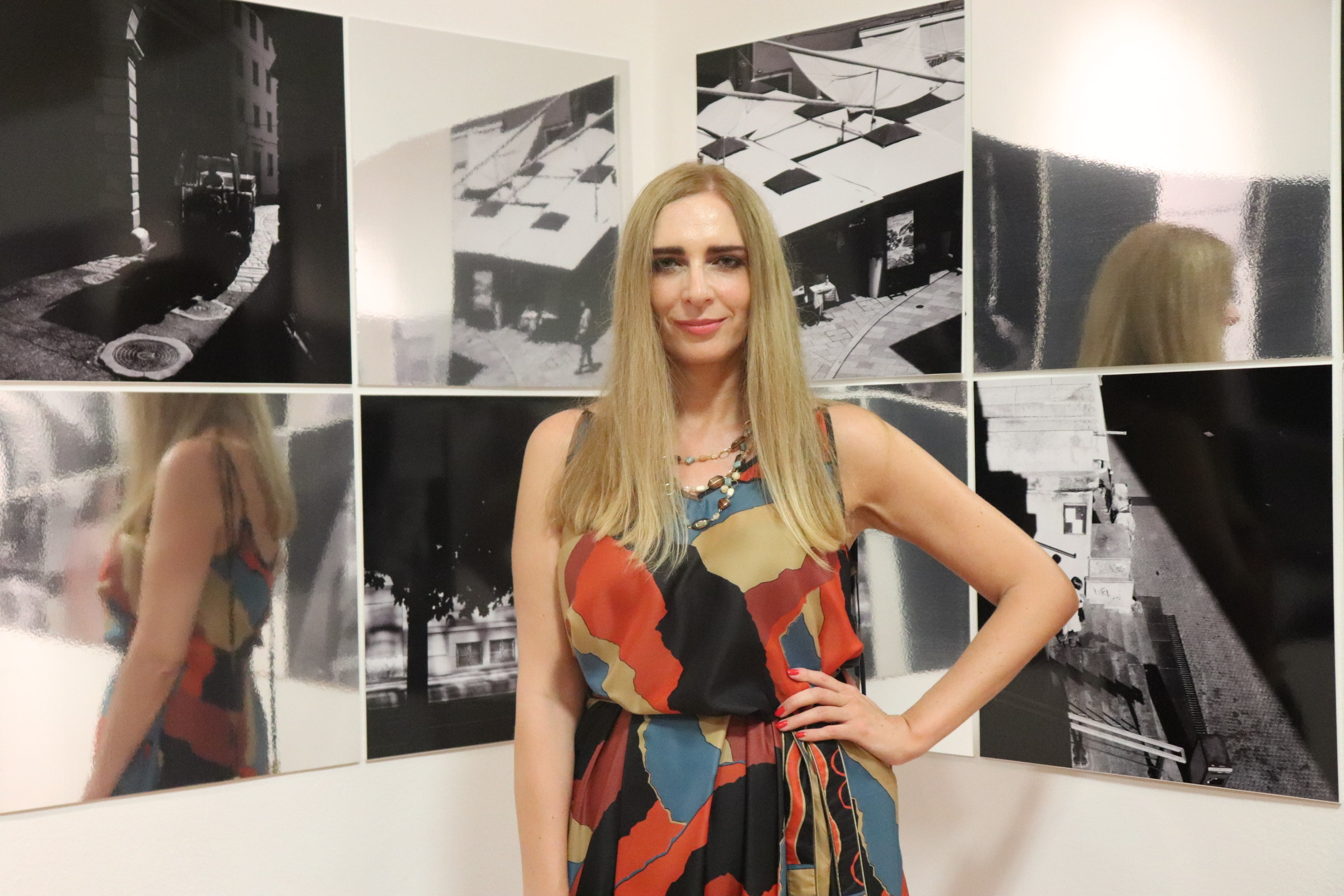 """Inaugurazione della mostra """"Anima"""" di Aleksandra Orlić"""