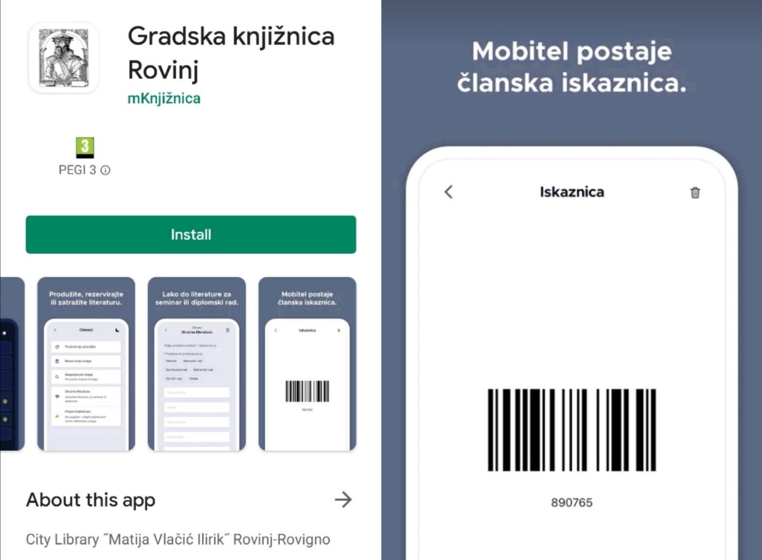 Gradska knjižnica «M. V. Ilirik» uvela je elektronske iskaznice