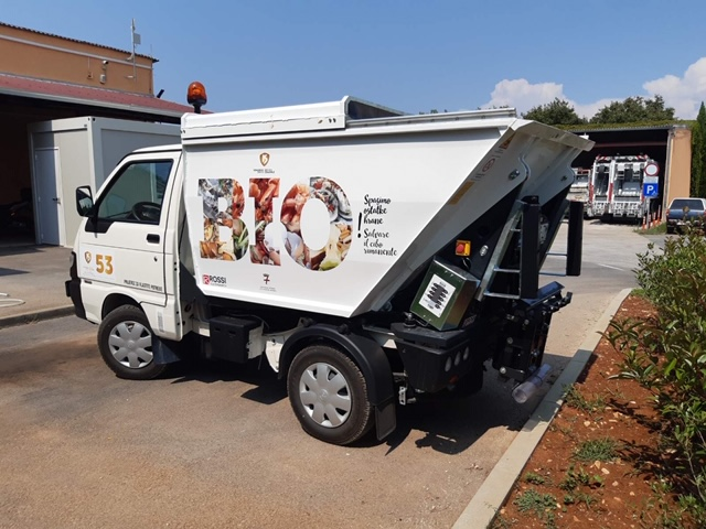 Il Servizio comunale introduce l'asporto dei rifiuti biologici da cucine e cantine