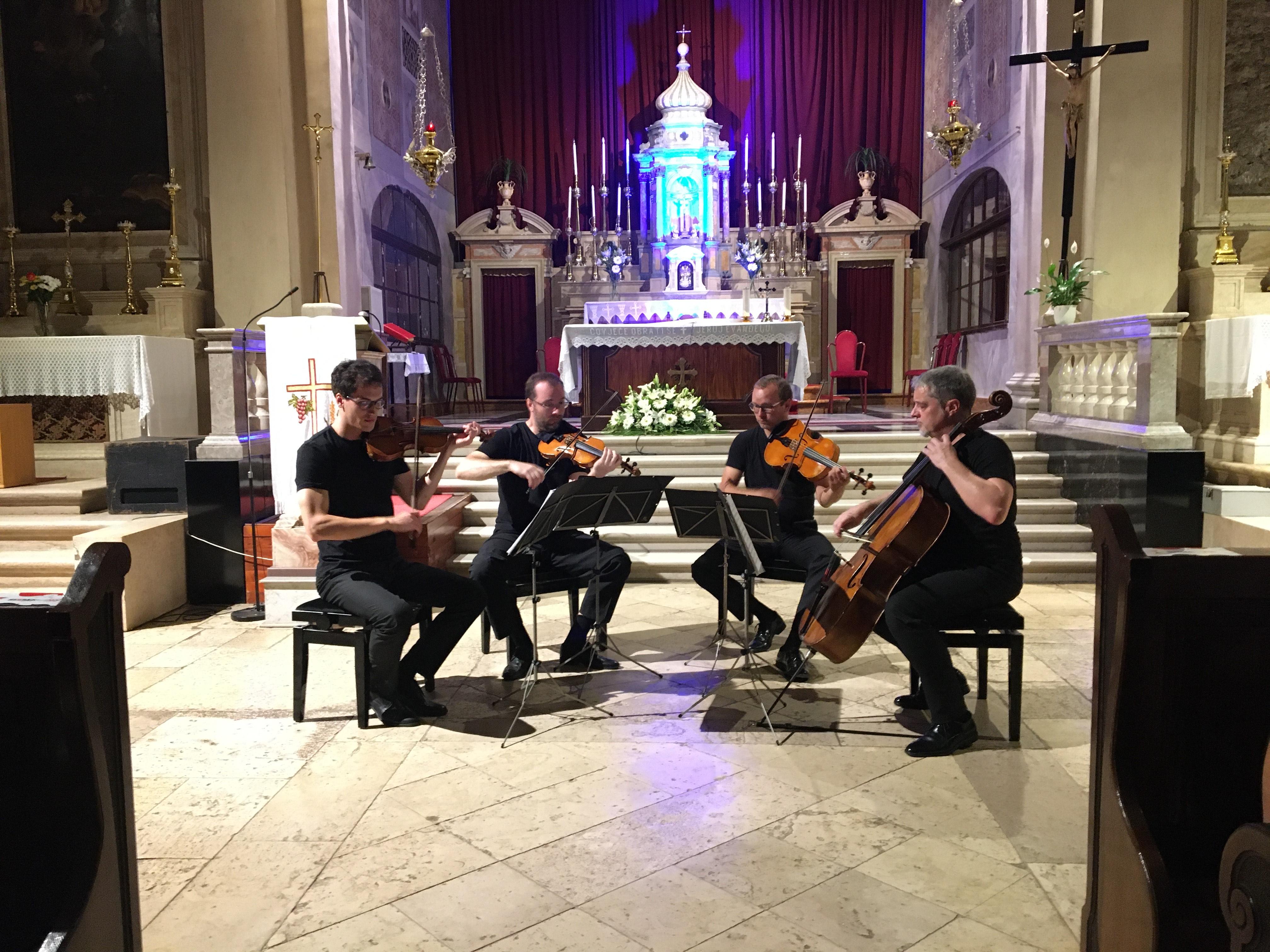 Il famoso Quartetto di Zagabria ha concluso il BaRoMus di quest'anno