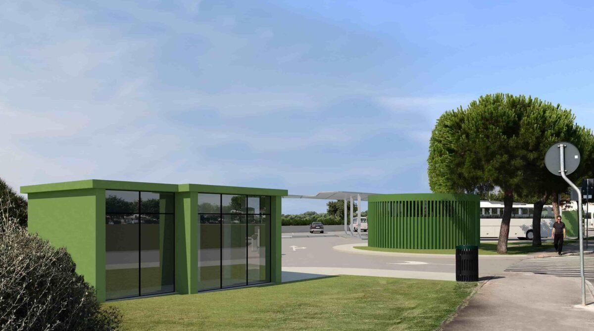Emesso il Permesso di costruire per il progetto della nuova stazione degli autobus - glavna fotografija