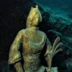 Terzo pellegrinaggio subacqueo alla replica della statua di Sant'Eufemia 1