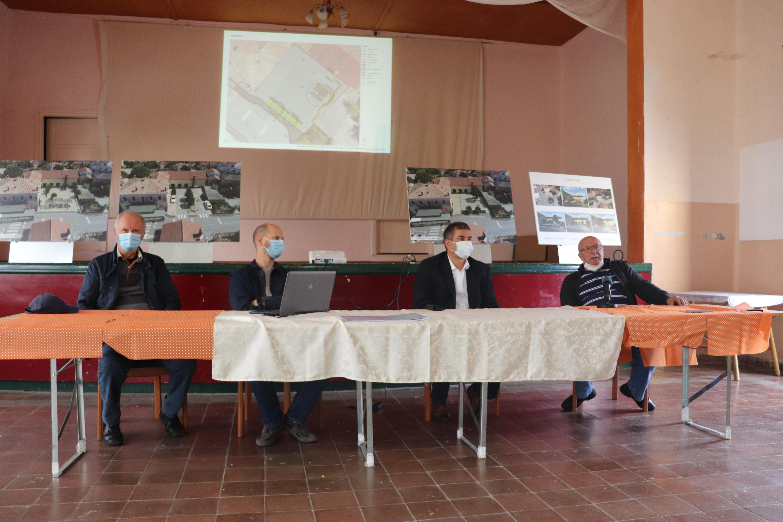 Presentato il progetto di riassetto della piazza a Villa di Rovigno