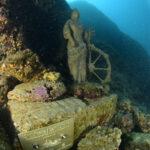 Terzo pellegrinaggio subacqueo alla replica della statua di Sant'Eufemia 3