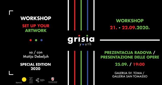 Iscrizione al workshop GrisiaYOUTH 2020 - glavna fotografija