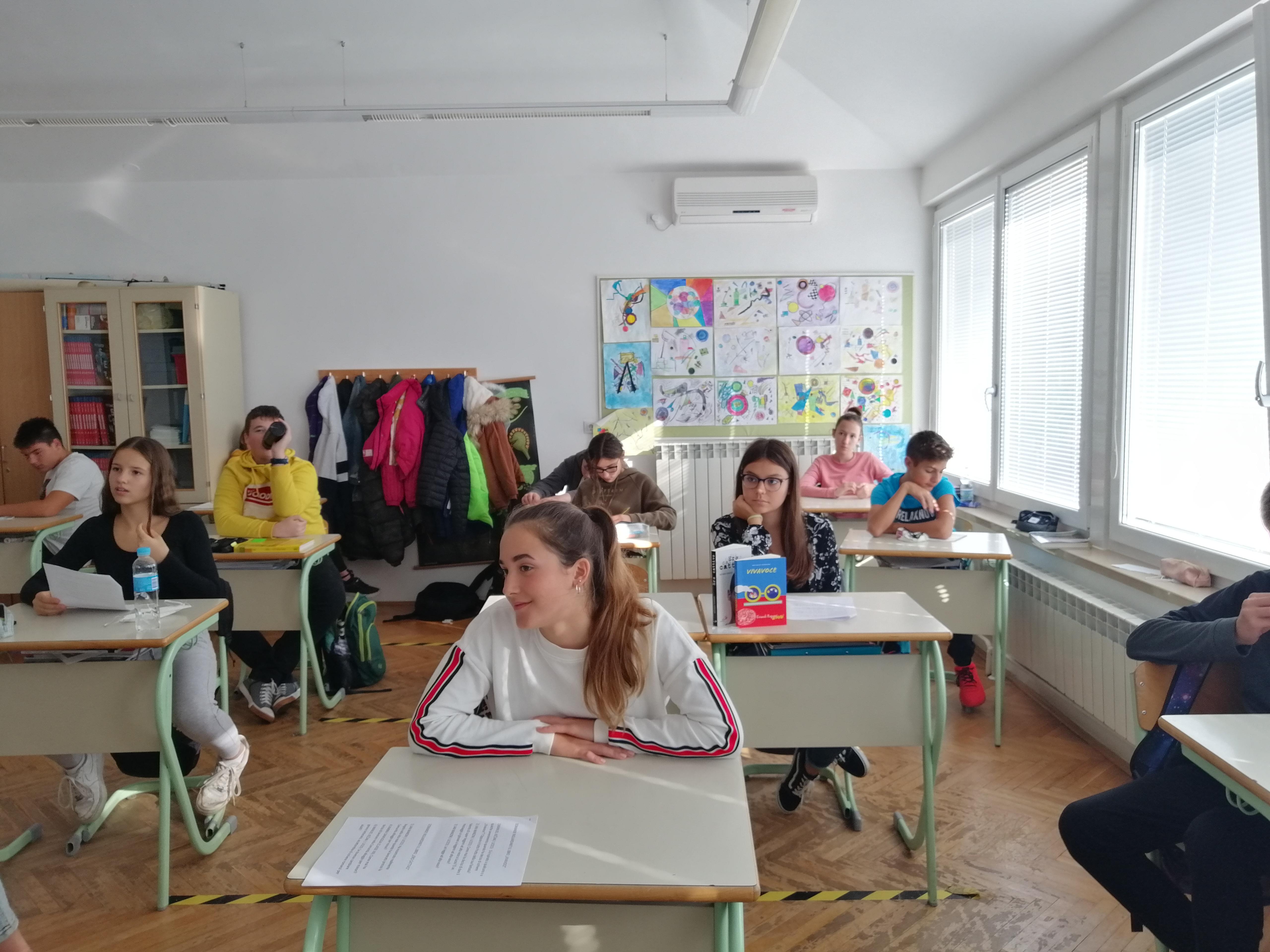 Učenici rovinjskih talijanskih škola sudjelovali u Festivalu talijanske književnosti