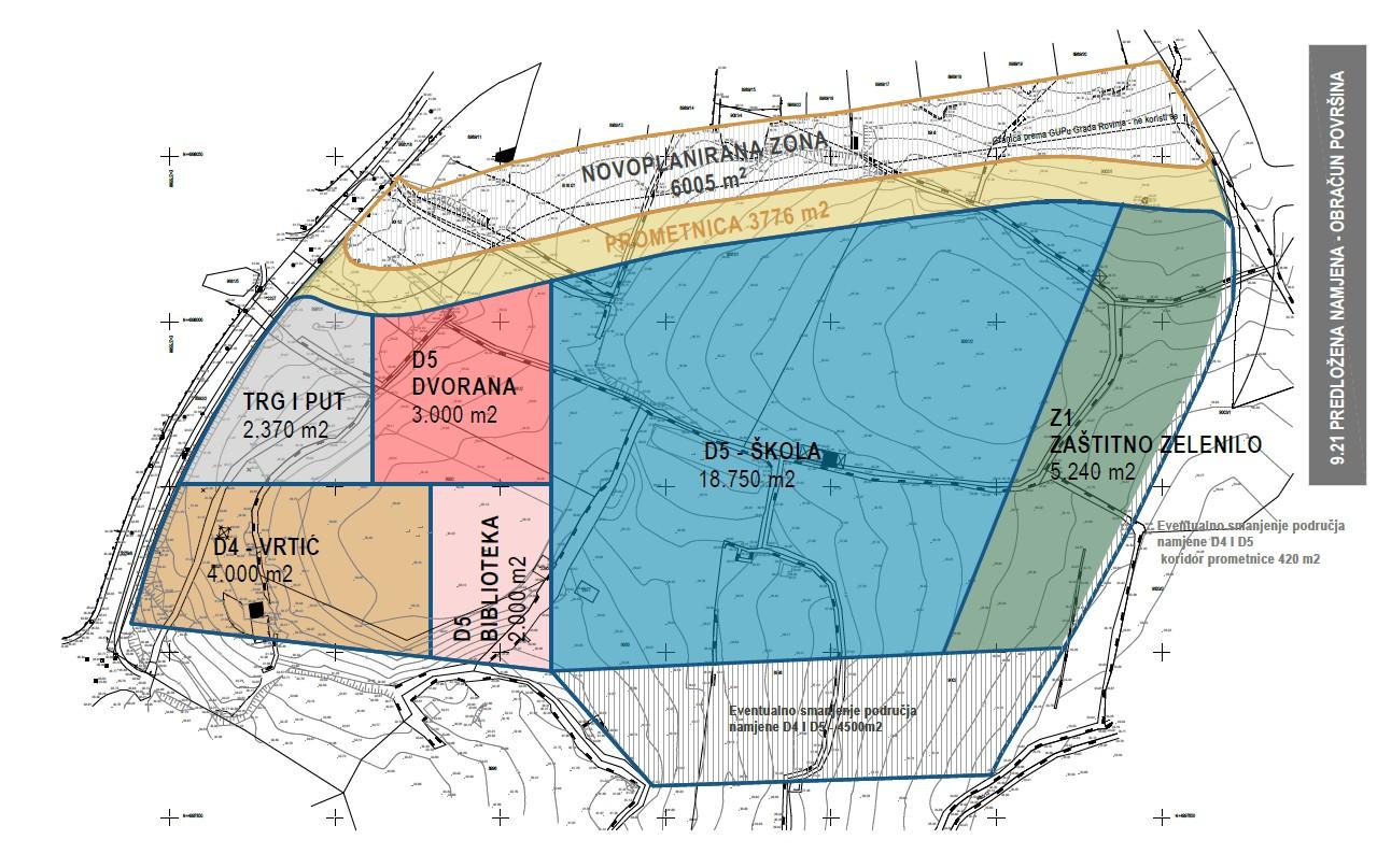 U naselju Lacosercio planira se izgradnja škole i vrtića