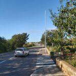 U tijeku su radovi na postavljanju javne rasvjete na cesti Fažanska  – Turnina 2