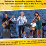 Dani bošnjačke kulture u Rovinju: pomaknuti na 23. listopada 2