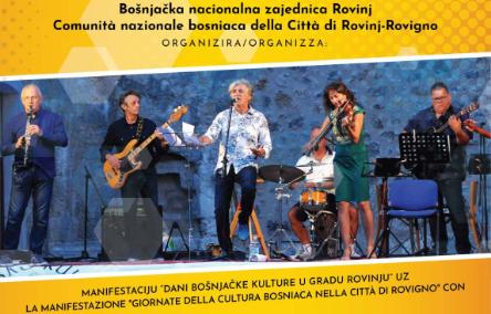 Dani bošnjačke kulture u Rovinju: pomaknuti na 23. listopada