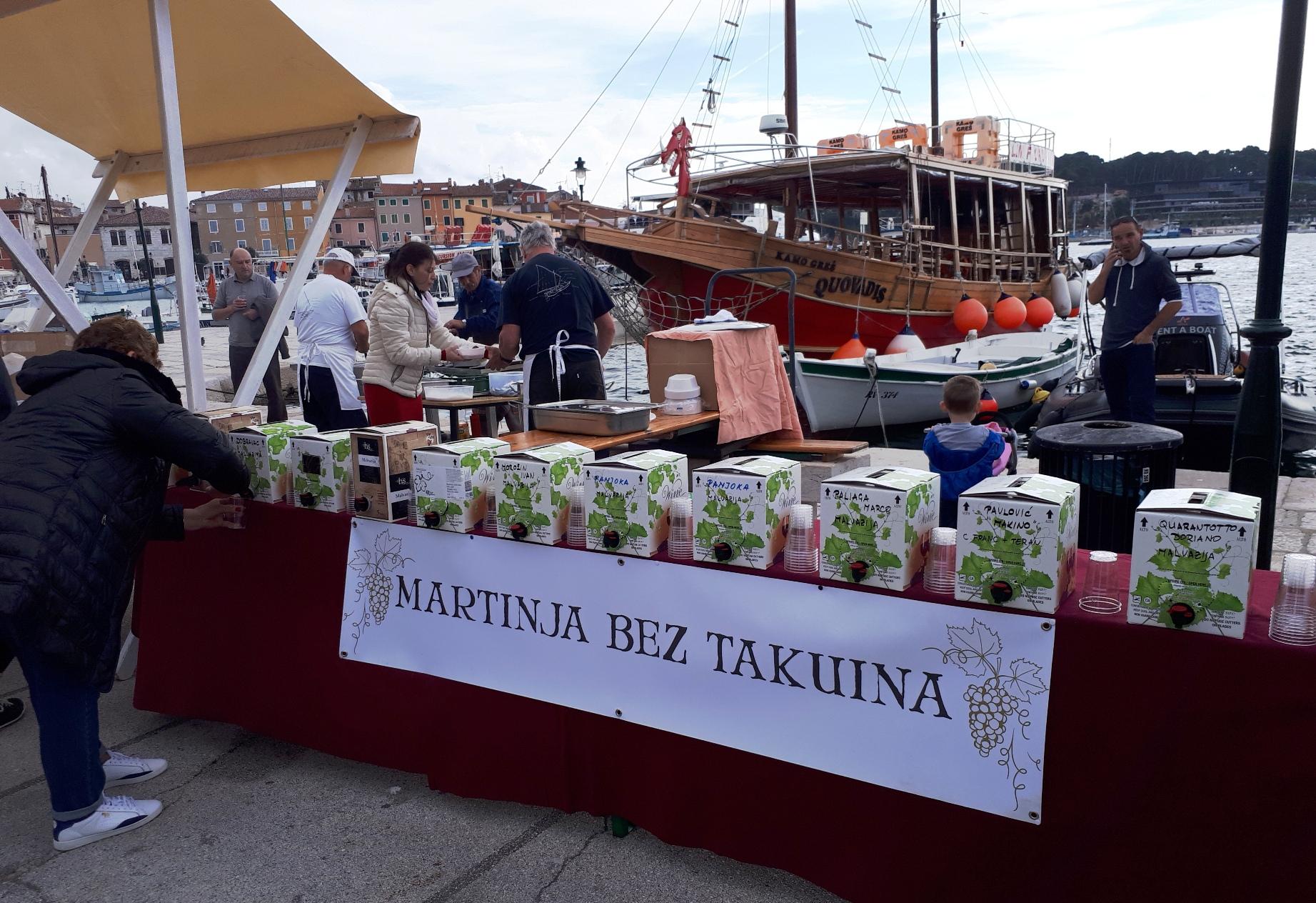 Il sapore del vino novello alla manifestazione «San Martin sensa tacuin»