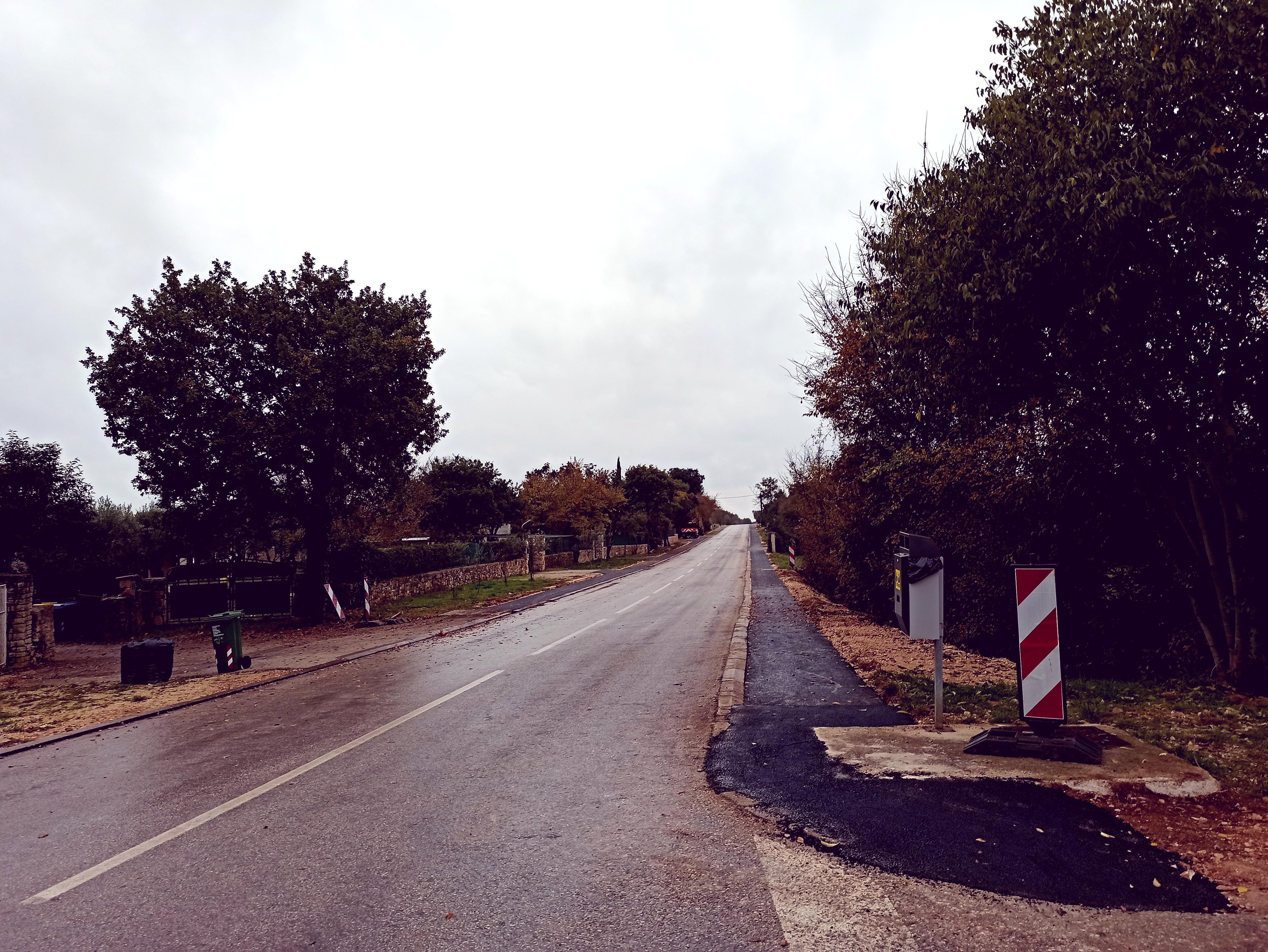È in corso la costruzione della pista ciclabile da Cocaletto a Vestre
