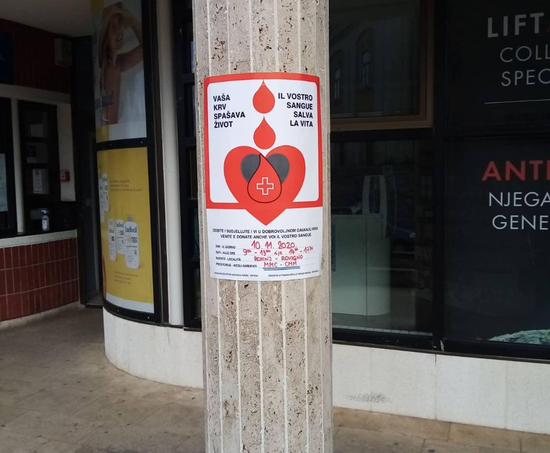 Domani al CMM l'ultima azione di donazione di sangue per il 2020