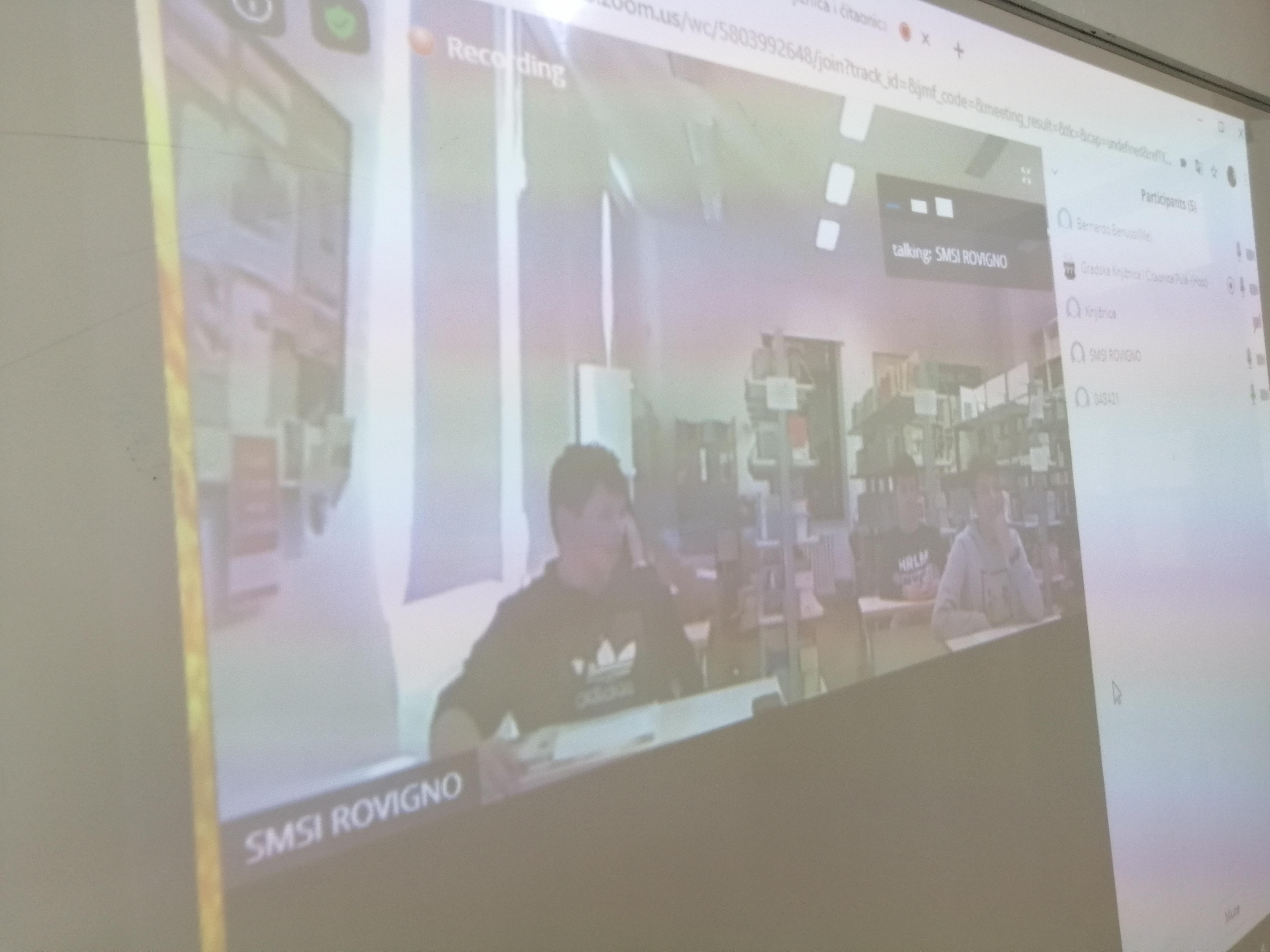 Le attività della biblioteca della Scuola media superiore italiana Rovinj-Rovigno