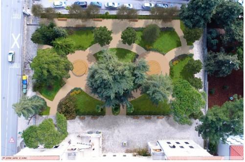Sviluppato il concetto di sistemazione del parco del Ginnasio
