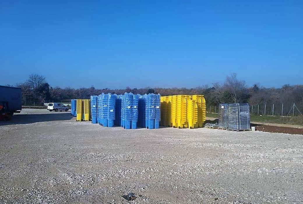 Druga faza isporuke spremnika za odvojeno prikupljanje komunalnog otpada