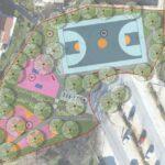 Progetto di allestimento del parco Lamanova 2
