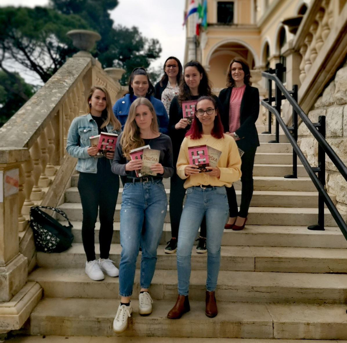 """Ottimi risultati delle alunne della Scuola Media Superiore Italiana al quiz online """"Mreža čitanja"""""""