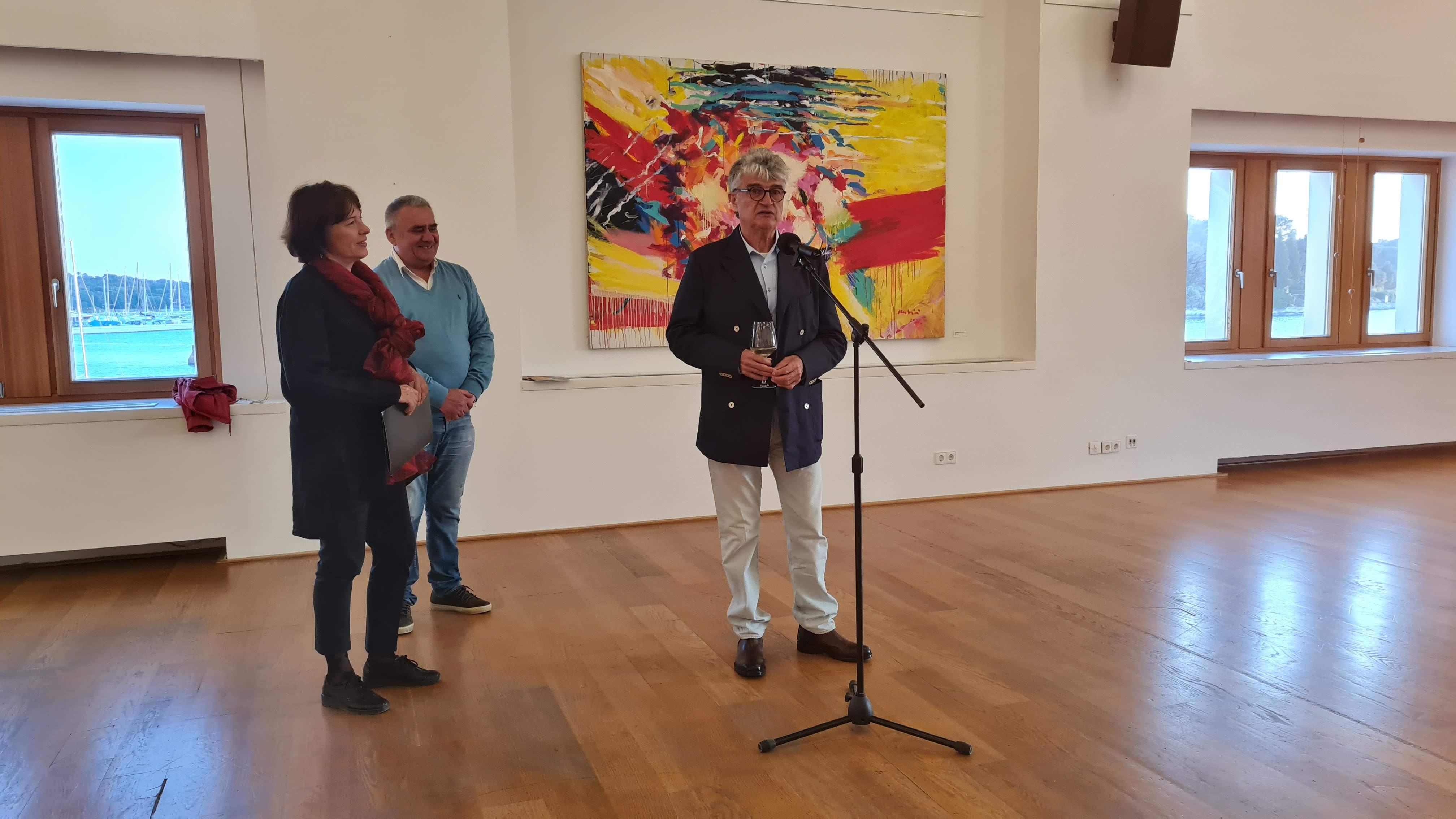 """Il Centro multimediale di Rovigno ha aperto i battenti con la mostra """"Fughe centripete"""""""