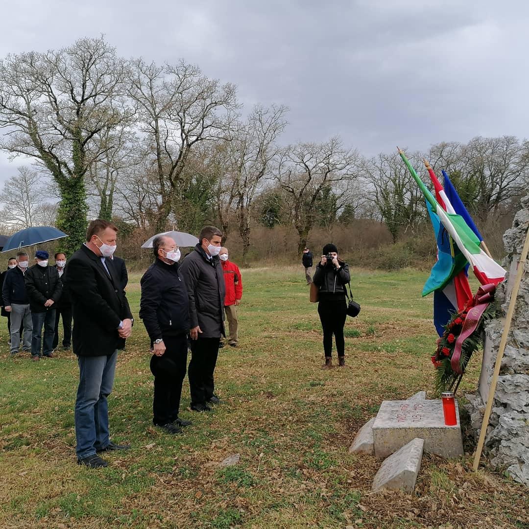 Na Stanciji Bembo održana svečanost povodom 77. godišnjice osnutka partizanskog bataljuna «Pino Budicin» - glavna fotografija