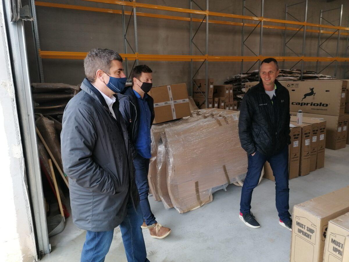 Il sindaco Paliaga ha visitato gli imprenditori che investono nella zona Gripole-Spine' - glavna fotografija