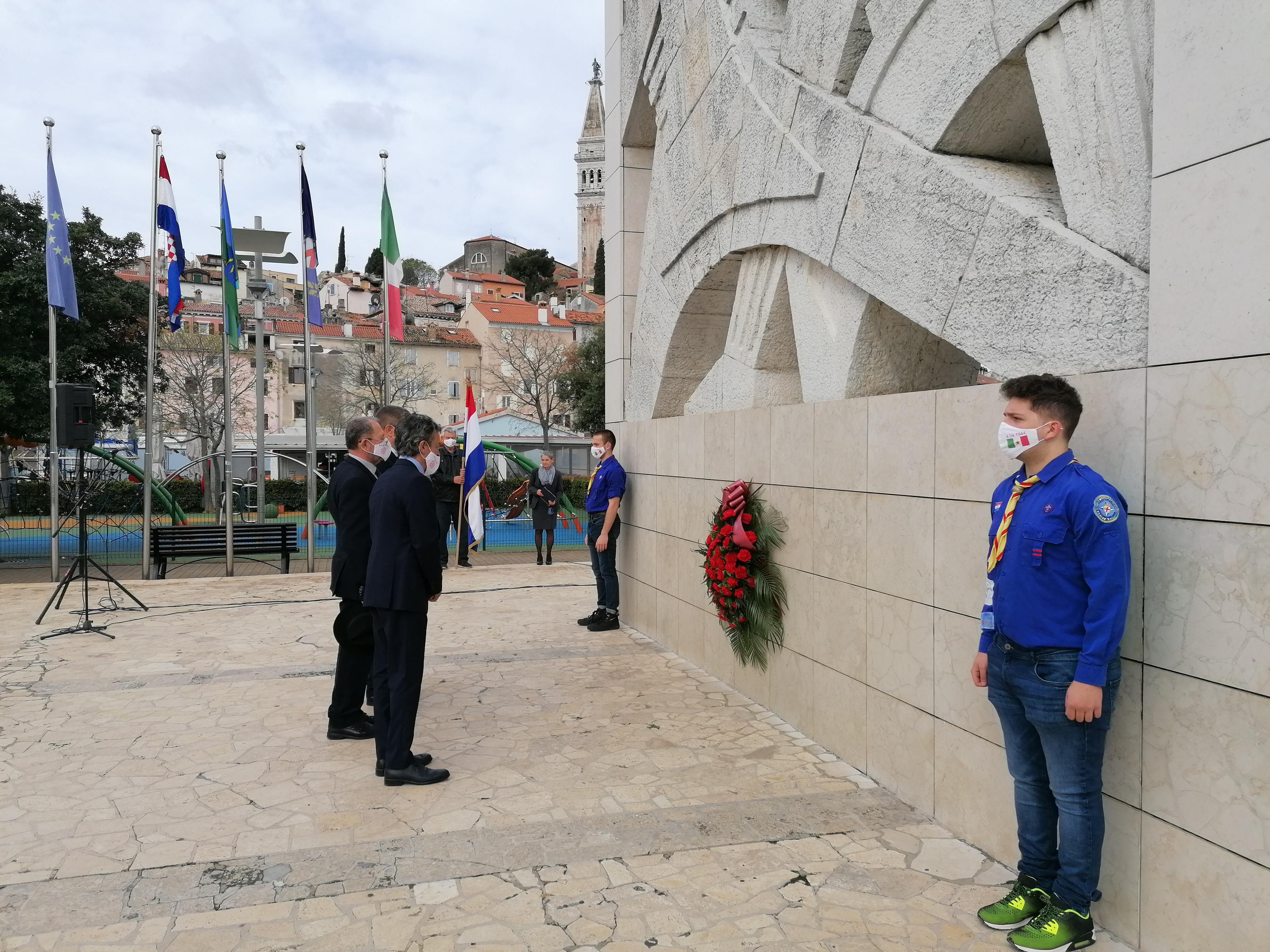 Grad Rovinj-Rovigno proslavio 76. godišnjicu oslobođenja grada