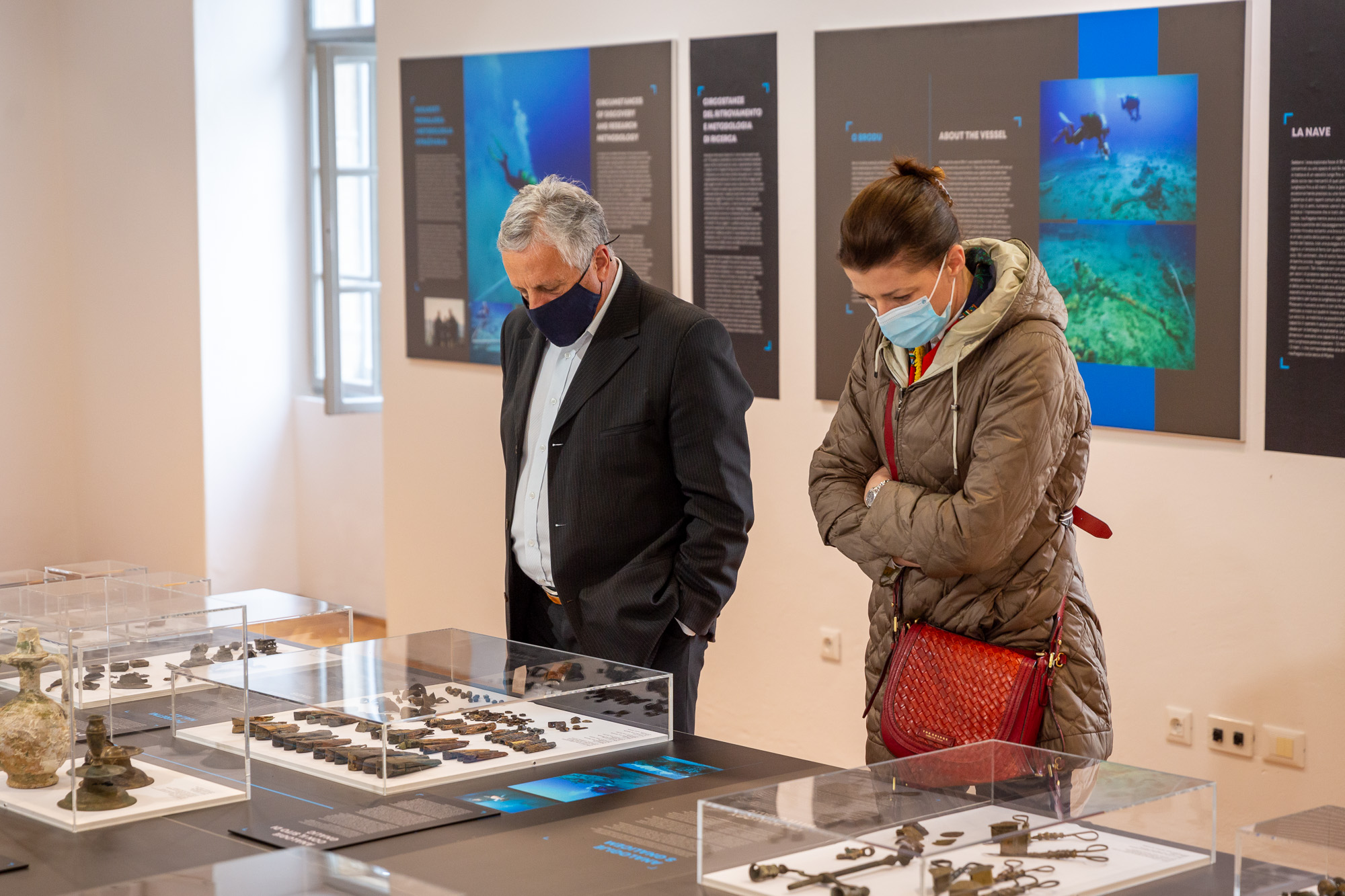 """U rovinjskom Muzeju otvorena izložba """"Brodolom Mijoka"""""""