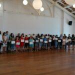 Si è tenuto il ricevimento dei vincitori dei concorsi regionali e statali delle scuole elementari di Rovigno 2