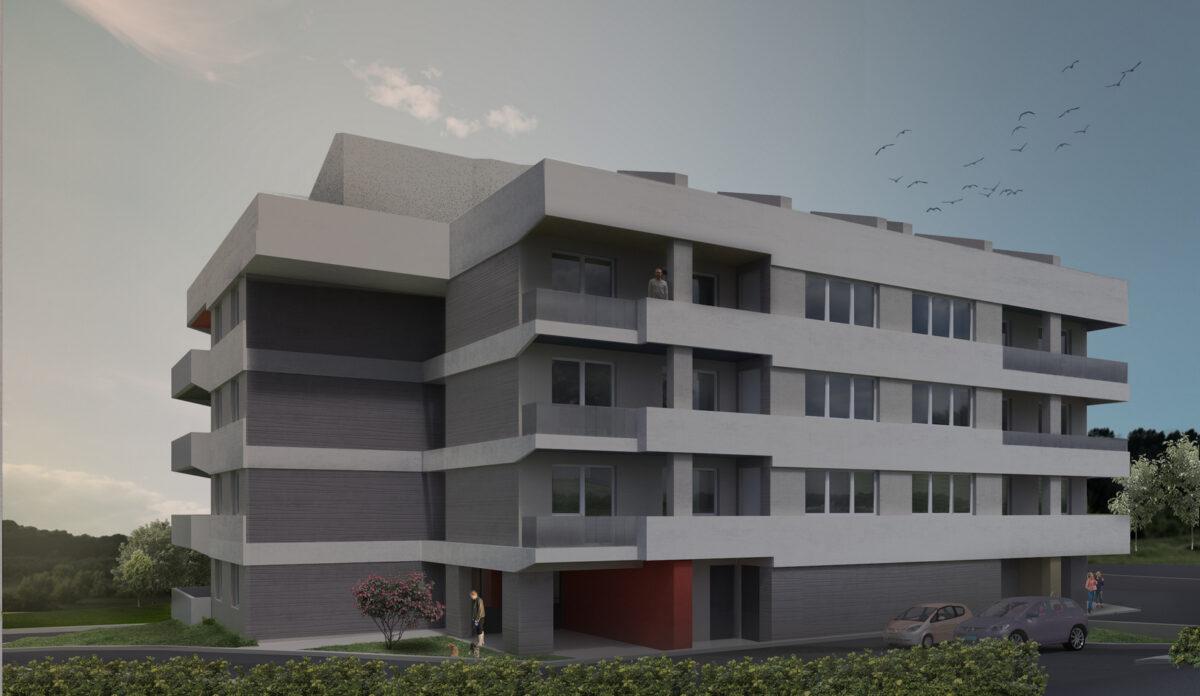 Costruzione degli appartamenti POS (programma di edilizia agevolata) - glavna fotografija