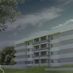 Costruzione degli appartamenti POS (programma di edilizia agevolata) 1